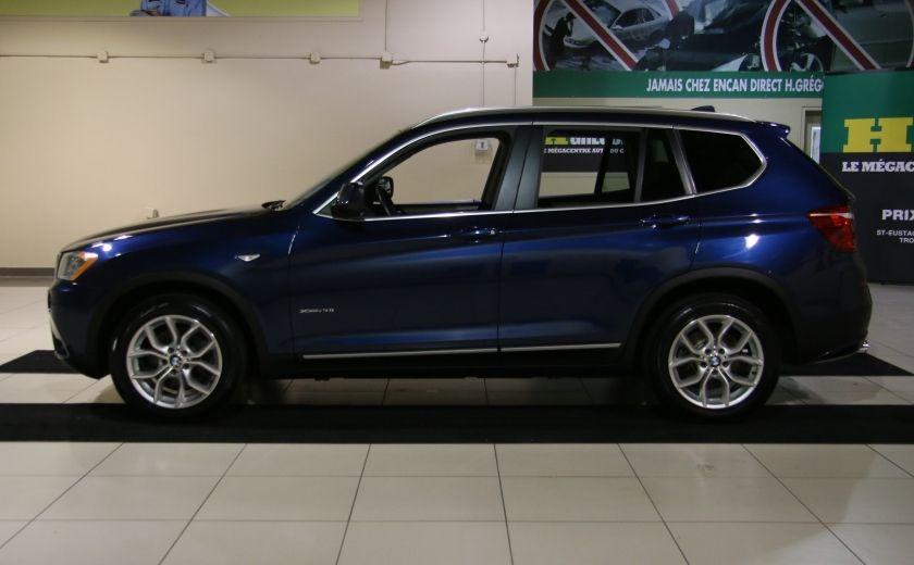 2013 BMW X3 28I AWD CUIR TOIT PANO NAV #3