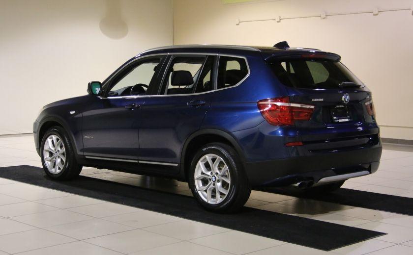 2013 BMW X3 28I AWD CUIR TOIT PANO NAV #4