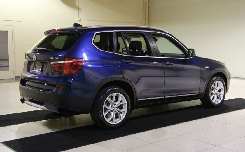 2013 BMW X3 28I AWD CUIR TOIT PANO NAV #6