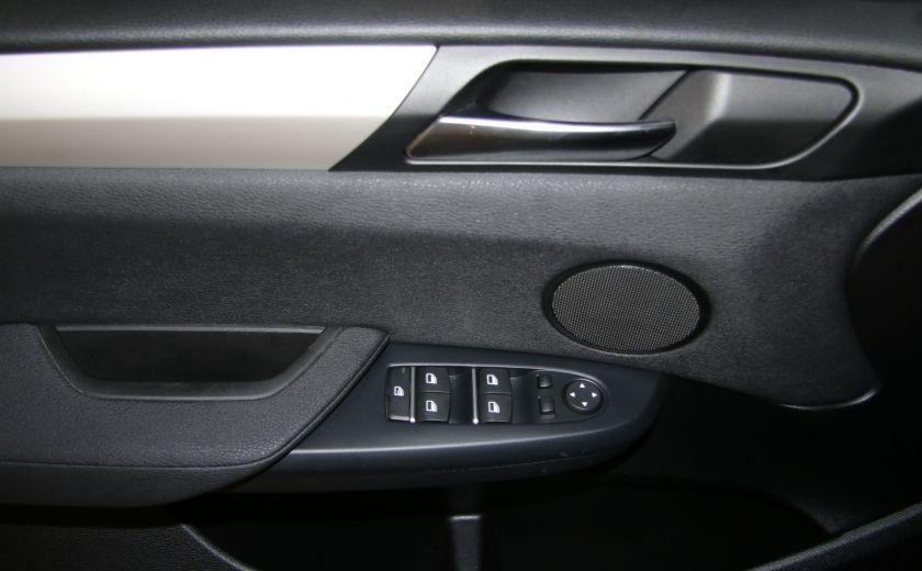 2013 BMW X3 28I AWD CUIR TOIT PANO NAV #10