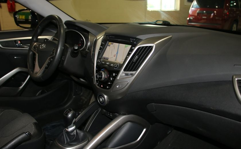 2012 Hyundai Veloster A/C GR ELECT TOIT MAGS BLUETOOTH NAV #24