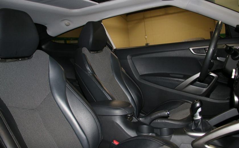 2012 Hyundai Veloster A/C GR ELECT TOIT MAGS BLUETOOTH NAV #26