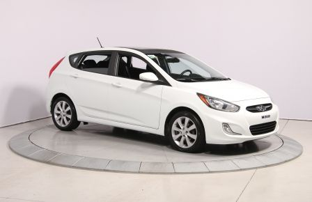 2013 Hyundai Accent GLS HB A/C TOIT  MAGS BLUETHOOT in Sept-Îles