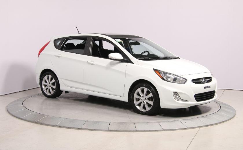 2013 Hyundai Accent GLS HB A/C TOIT  MAGS BLUETHOOT #0