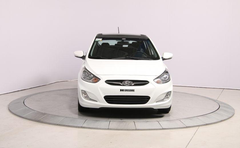 2013 Hyundai Accent GLS HB A/C TOIT  MAGS BLUETHOOT #1