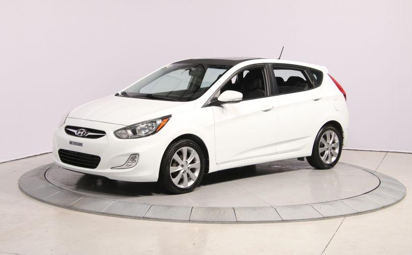 2013 Hyundai Accent GLS HB A/C TOIT  MAGS BLUETHOOT #2