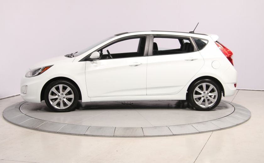 2013 Hyundai Accent GLS HB A/C TOIT  MAGS BLUETHOOT #3