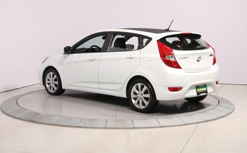 2013 Hyundai Accent GLS HB A/C TOIT  MAGS BLUETHOOT #4