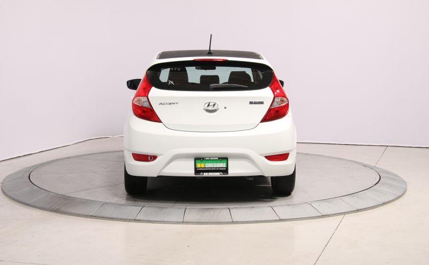 2013 Hyundai Accent GLS HB A/C TOIT  MAGS BLUETHOOT #5
