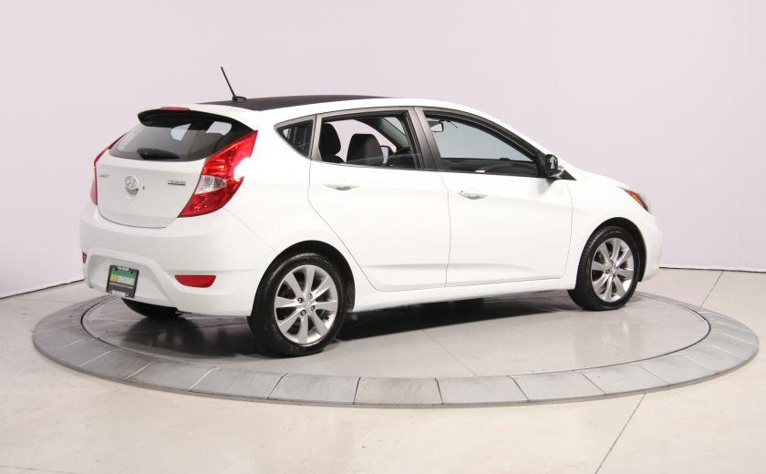2013 Hyundai Accent GLS HB A/C TOIT  MAGS BLUETHOOT #6