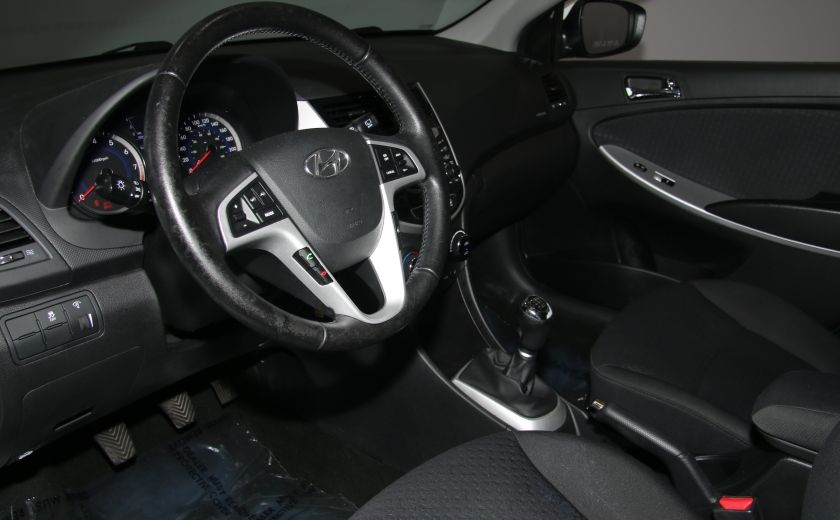 2013 Hyundai Accent GLS HB A/C TOIT  MAGS BLUETHOOT #8
