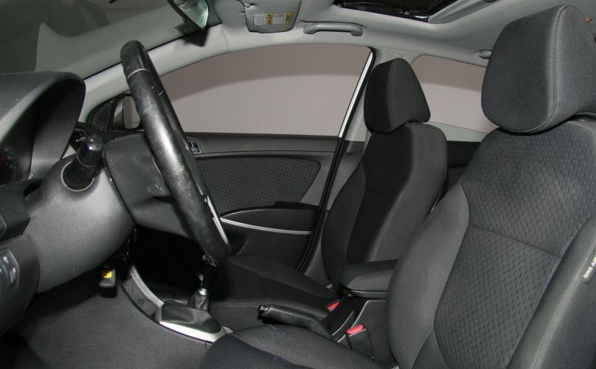 2013 Hyundai Accent GLS HB A/C TOIT  MAGS BLUETHOOT #9