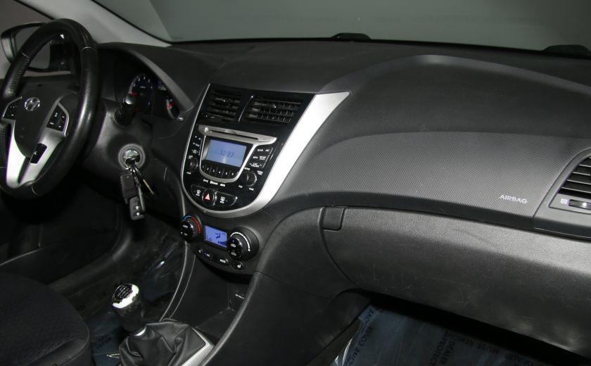 2013 Hyundai Accent GLS HB A/C TOIT  MAGS BLUETHOOT #21