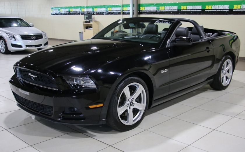 2013 Ford Mustang GT 5.0L AUTO A/C CUIR TOIT MOU MAGS #2