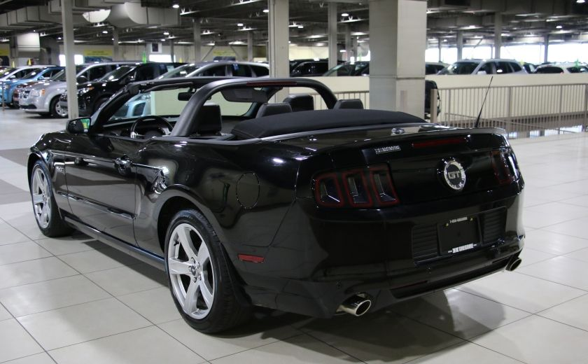 2013 Ford Mustang GT 5.0L AUTO A/C CUIR TOIT MOU MAGS #4
