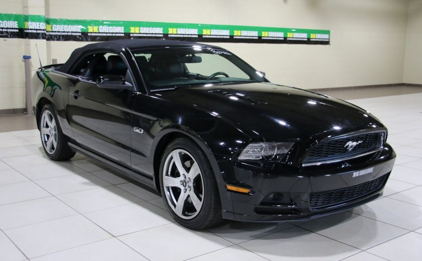 2013 Ford Mustang GT 5.0L AUTO A/C CUIR TOIT MOU MAGS #8