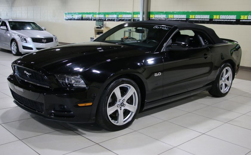 2013 Ford Mustang GT 5.0L AUTO A/C CUIR TOIT MOU MAGS #9