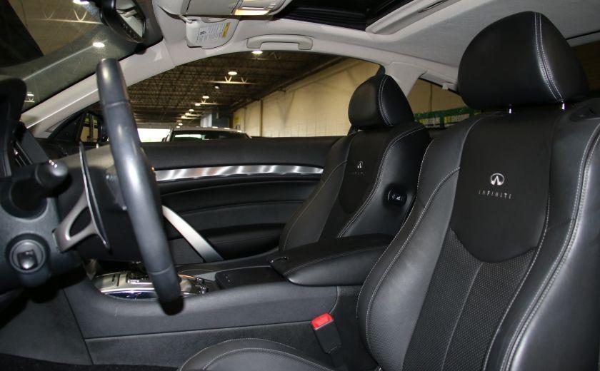 2014 Infiniti Q60 Premium AWD AUTO A/C CUIR TOIT MAGS #9