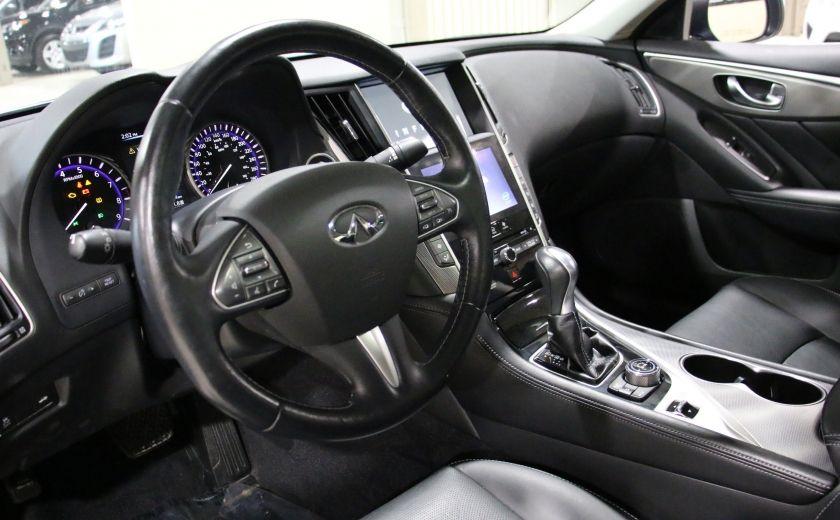 2014 Infiniti Q50 Premium AWD AUTO A/C CUIR TOIT MAGS #8