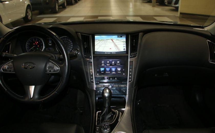 2014 Infiniti Q50 Premium AWD AUTO A/C CUIR TOIT MAGS #13
