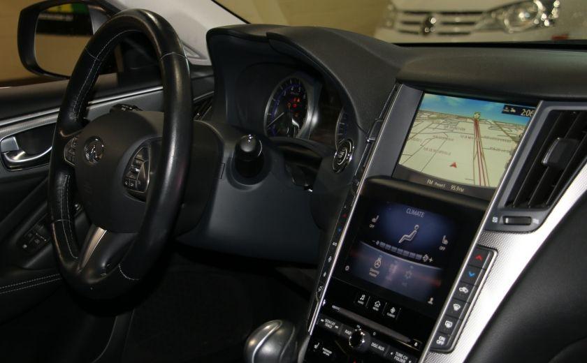 2014 Infiniti Q50 Premium AWD AUTO A/C CUIR TOIT MAGS #28