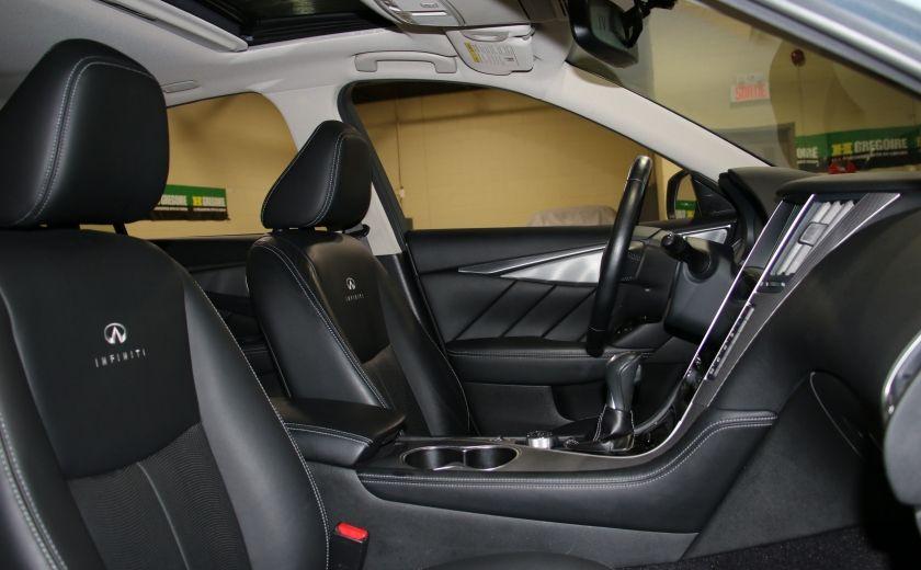 2014 Infiniti Q50 Premium AWD AUTO A/C CUIR TOIT MAGS #29