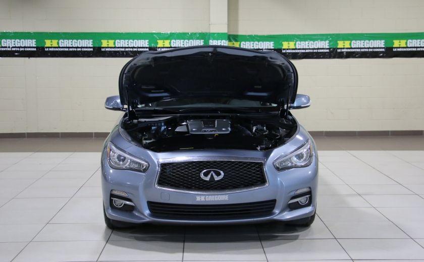2014 Infiniti Q50 Premium AWD AUTO A/C CUIR TOIT MAGS #31
