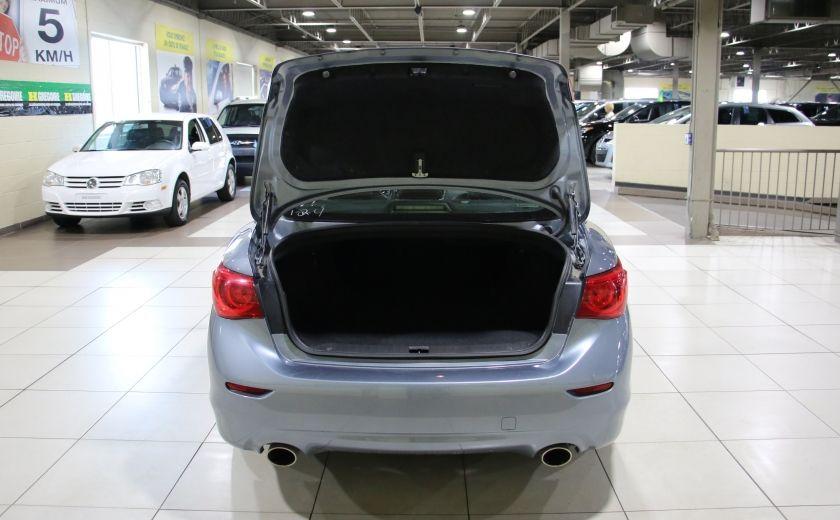 2014 Infiniti Q50 Premium AWD AUTO A/C CUIR TOIT MAGS #32