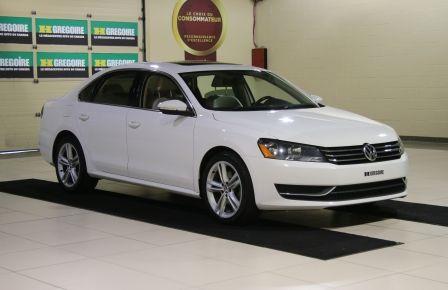 2012 Volkswagen Passat 2.5L  Comfortline AUTO CUIR TOIT MAGS BLUETOOTH à Saguenay