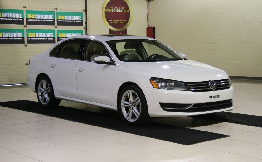 2012 Volkswagen Passat 2.5L  Comfortline AUTO CUIR TOIT MAGS BLUETOOTH #0