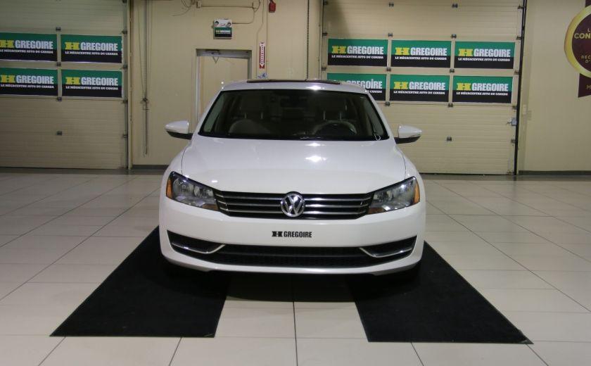 2012 Volkswagen Passat 2.5L  Comfortline AUTO CUIR TOIT MAGS BLUETOOTH #1