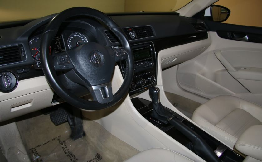 2012 Volkswagen Passat 2.5L  Comfortline AUTO CUIR TOIT MAGS BLUETOOTH #5