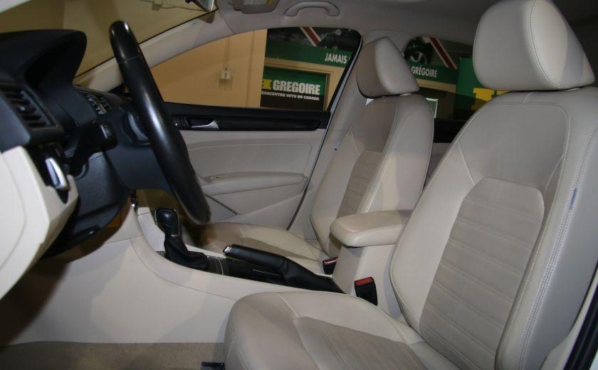 2012 Volkswagen Passat 2.5L  Comfortline AUTO CUIR TOIT MAGS BLUETOOTH #6