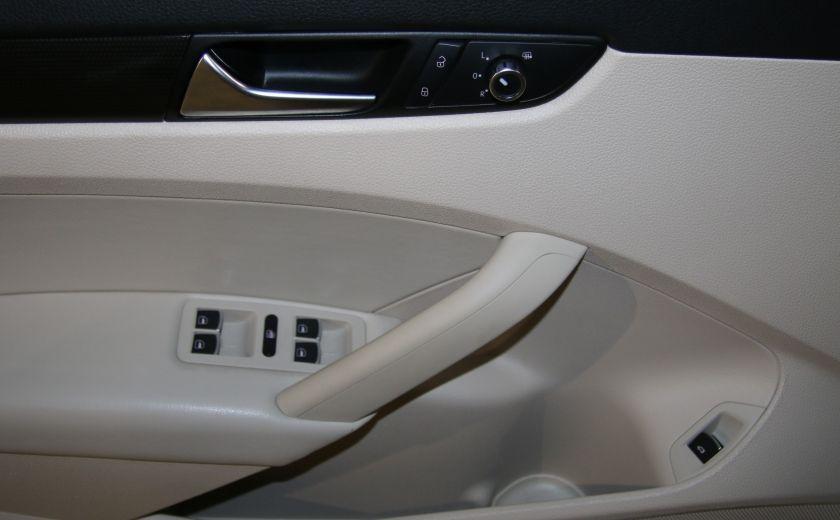 2012 Volkswagen Passat 2.5L  Comfortline AUTO CUIR TOIT MAGS BLUETOOTH #7