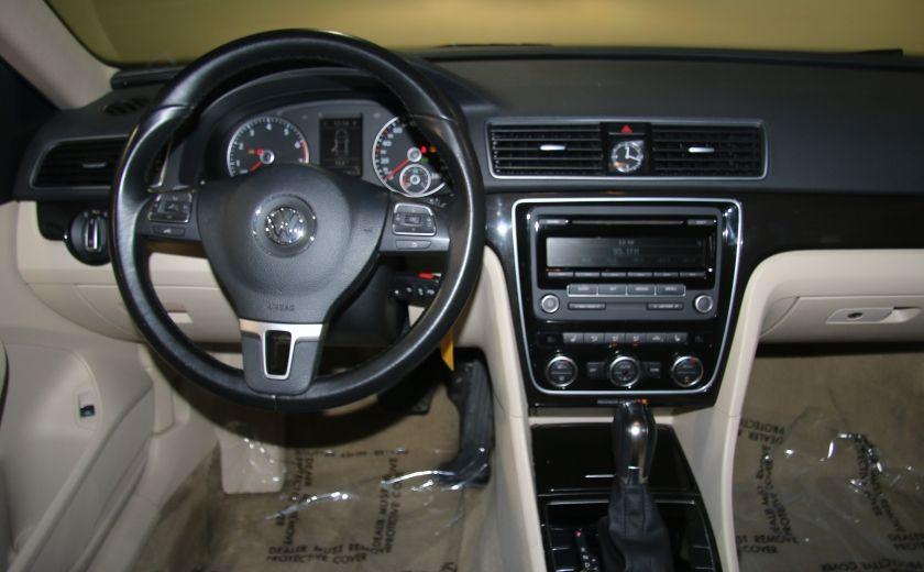 2012 Volkswagen Passat 2.5L  Comfortline AUTO CUIR TOIT MAGS BLUETOOTH #11