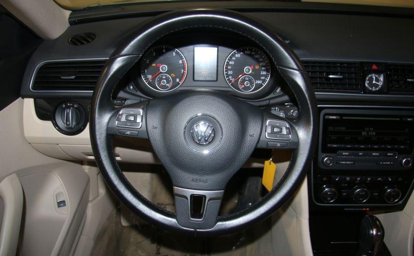 2012 Volkswagen Passat 2.5L  Comfortline AUTO CUIR TOIT MAGS BLUETOOTH #12