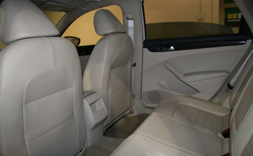 2012 Volkswagen Passat 2.5L  Comfortline AUTO CUIR TOIT MAGS BLUETOOTH #15