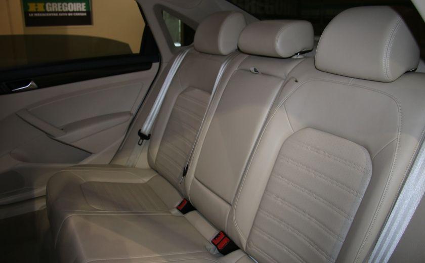 2012 Volkswagen Passat 2.5L  Comfortline AUTO CUIR TOIT MAGS BLUETOOTH #16