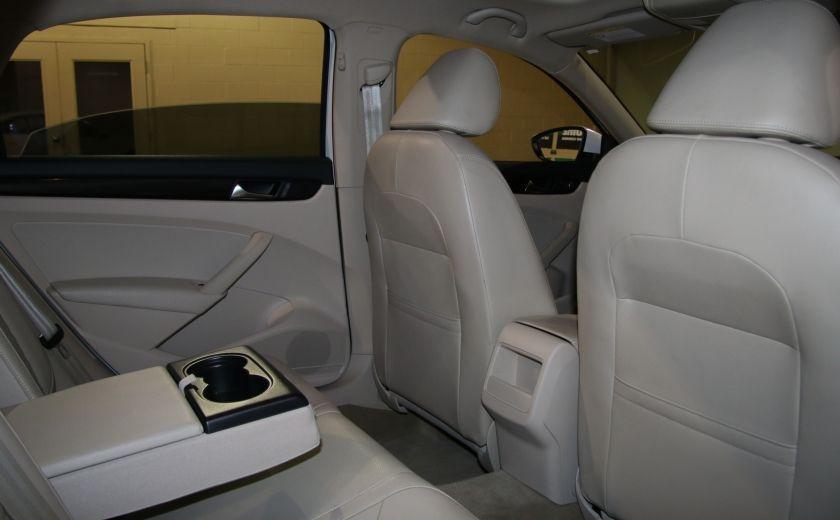 2012 Volkswagen Passat 2.5L  Comfortline AUTO CUIR TOIT MAGS BLUETOOTH #17