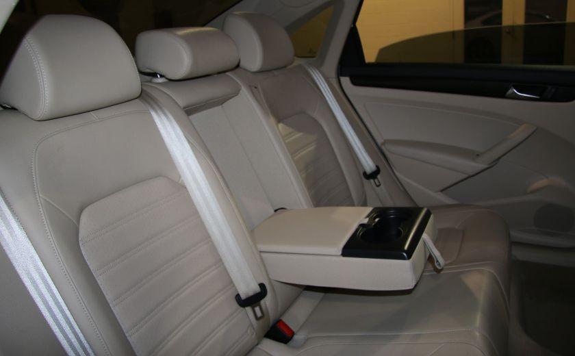 2012 Volkswagen Passat 2.5L  Comfortline AUTO CUIR TOIT MAGS BLUETOOTH #18