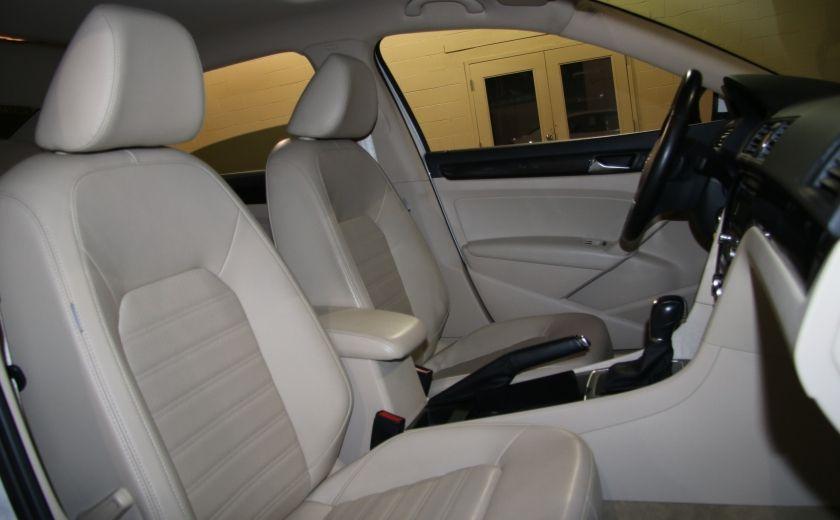2012 Volkswagen Passat 2.5L  Comfortline AUTO CUIR TOIT MAGS BLUETOOTH #21