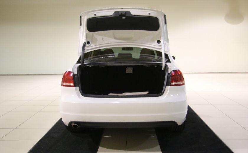 2012 Volkswagen Passat 2.5L  Comfortline AUTO CUIR TOIT MAGS BLUETOOTH #24
