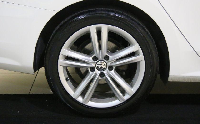 2012 Volkswagen Passat 2.5L  Comfortline AUTO CUIR TOIT MAGS BLUETOOTH #27