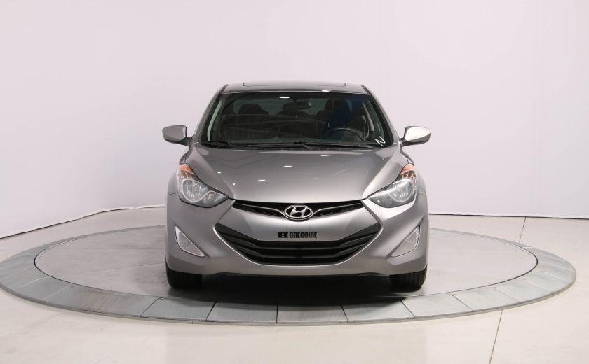 2013 Hyundai Elantra GLS A/C GR ELECT TOIT MAGS BLUETOOTH #1