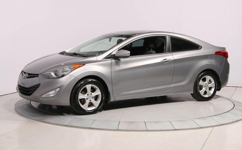 2013 Hyundai Elantra GLS A/C GR ELECT TOIT MAGS BLUETOOTH #2