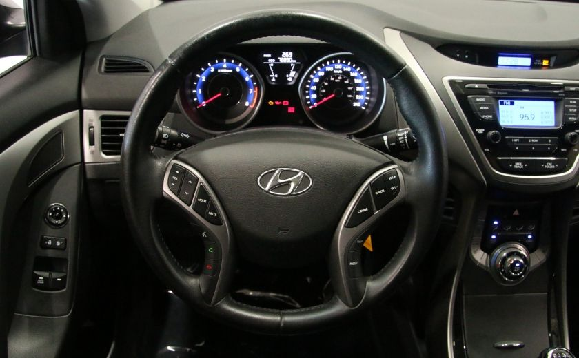 2013 Hyundai Elantra GLS A/C GR ELECT TOIT MAGS BLUETOOTH #14