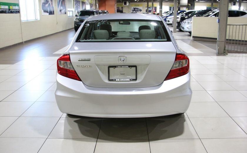 2012 Honda Civic EX AUTO A/C TOIT MAGS BLUETOOTH #5