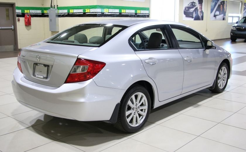 2012 Honda Civic EX AUTO A/C TOIT MAGS BLUETOOTH #6