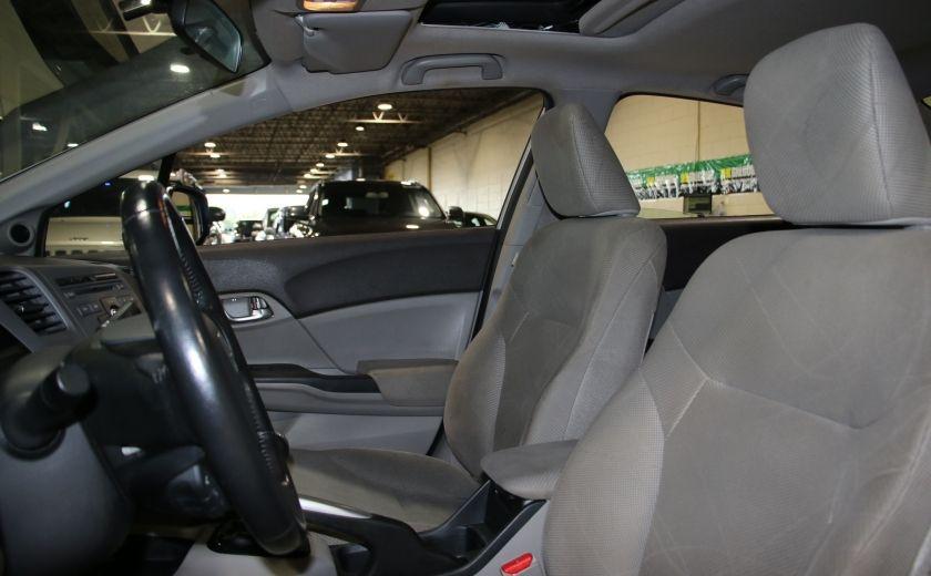 2012 Honda Civic EX AUTO A/C TOIT MAGS BLUETOOTH #9