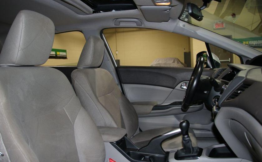 2012 Honda Civic EX AUTO A/C TOIT MAGS BLUETOOTH #23